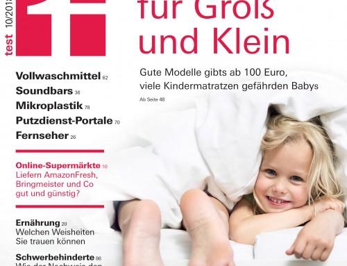 Kindermatratzentest: Die Hälfte ist mangelhaft und kann für Babys gefährlich werden