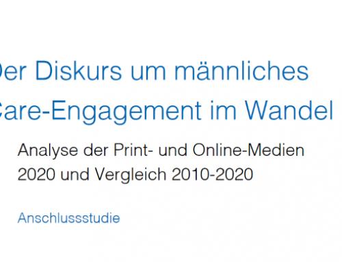 Neue Studie zum Schweizer Mediendiskurs zeigt gewachsenes Interesse an männlichem Care-Engagement